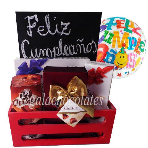 Regala Chocolates y pizarra a domicilio en Santiago