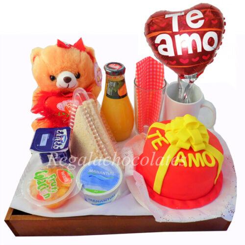 dia del amor torta san valentin a domicilio regala chocolates