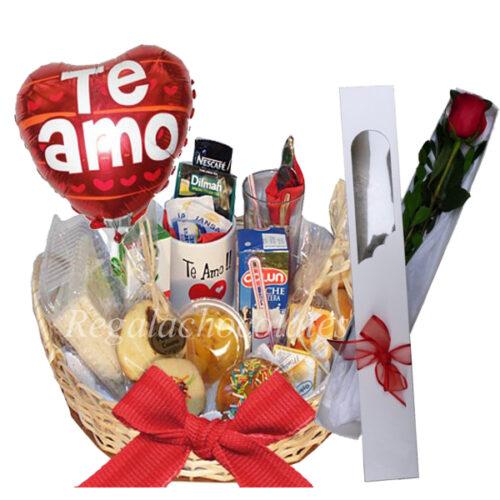 dia del amor rosa san valentin a domicilio regala chocolates