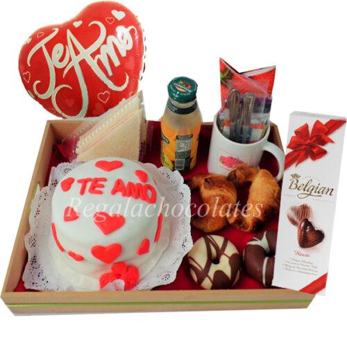 dia del amor donut san valentin a domicilio regala chocolates