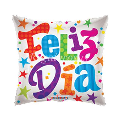Globo helio Feliz dia a domicilio en santiago