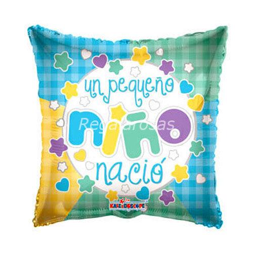 Globo Helio nacimiento niña a domicilio en Santiago