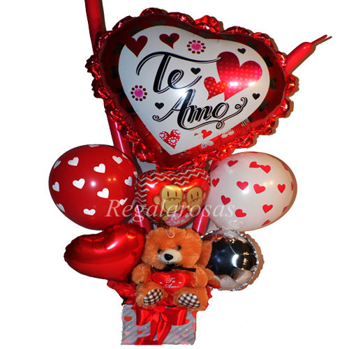 Bouquet Te amo Especial a domicilio en Santiago