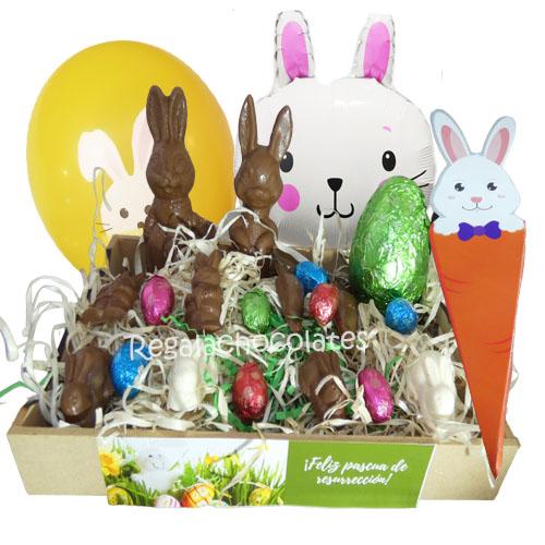 Chocolates de pascua de resurrección