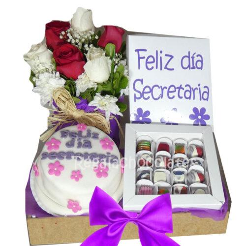 chocolates día de la secretaria